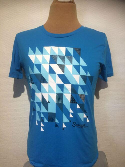 Soraya t-shirt blauw