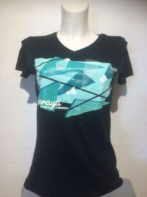 Soraya t-shirt zwart