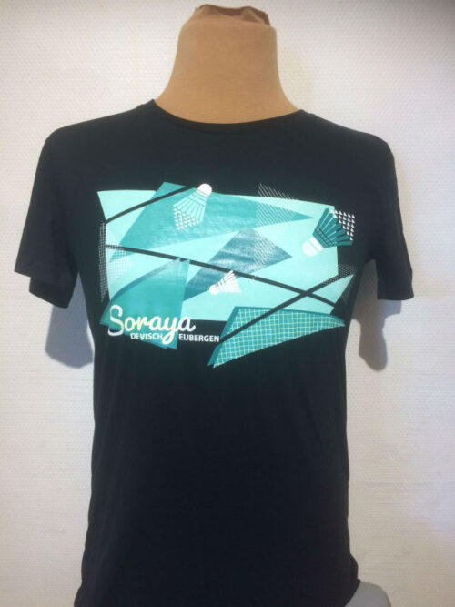 soraya t-shirt zwart heren
