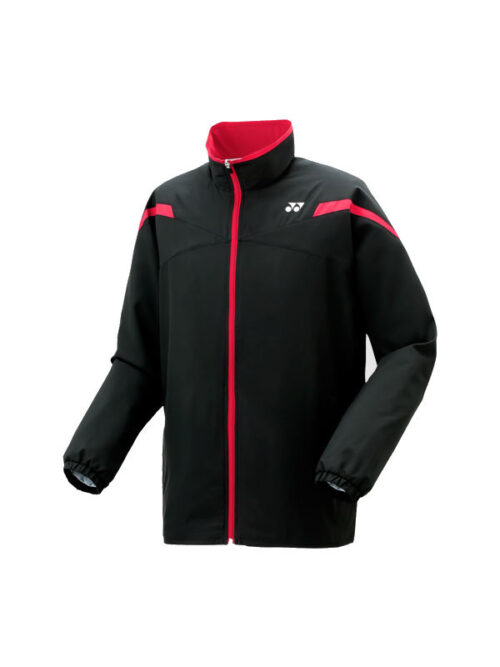 YONEX MEN'S WARM-UP JACKET BLACK 50058EX