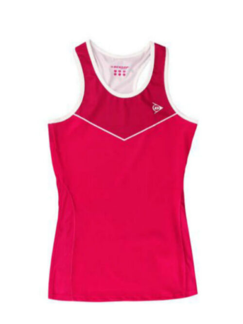 Dunlop tanktop red-cherry