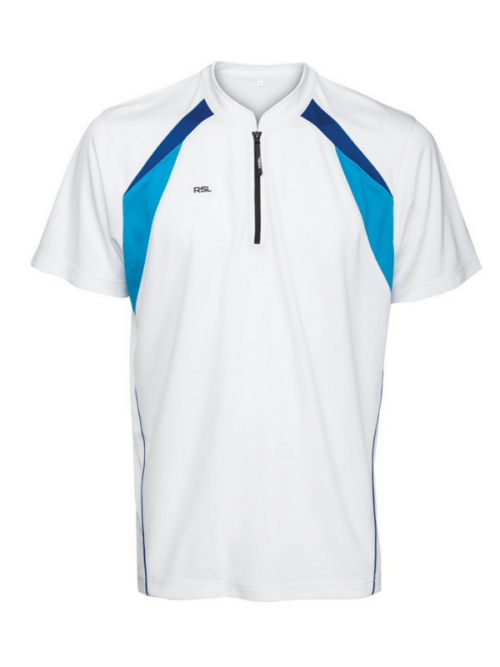 RSL Classic Polo (wit/blauw)