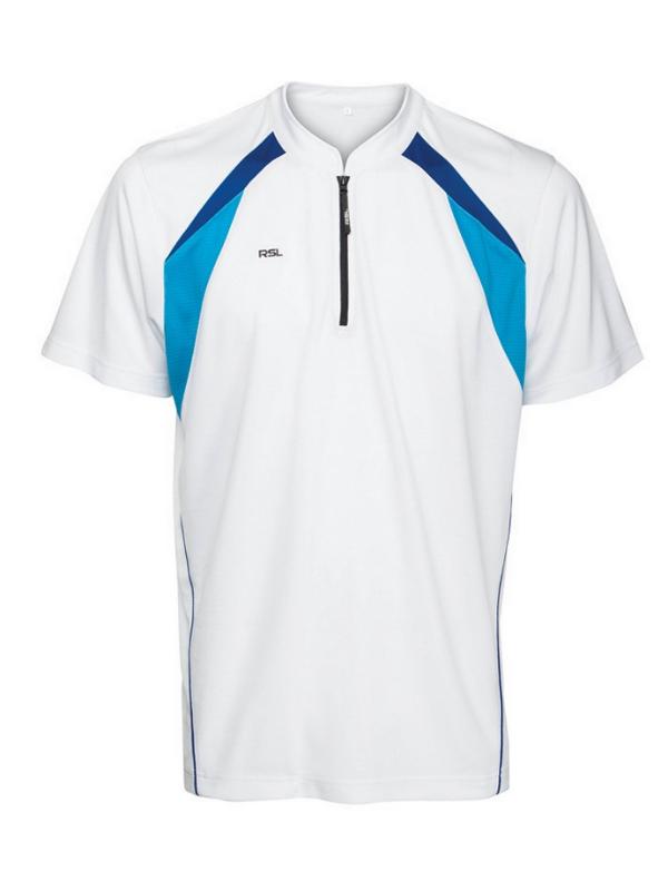 RSL Classic Polo (wit/blauw)