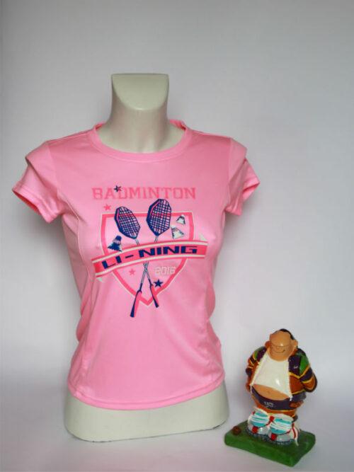 Li Ning Shirt pink