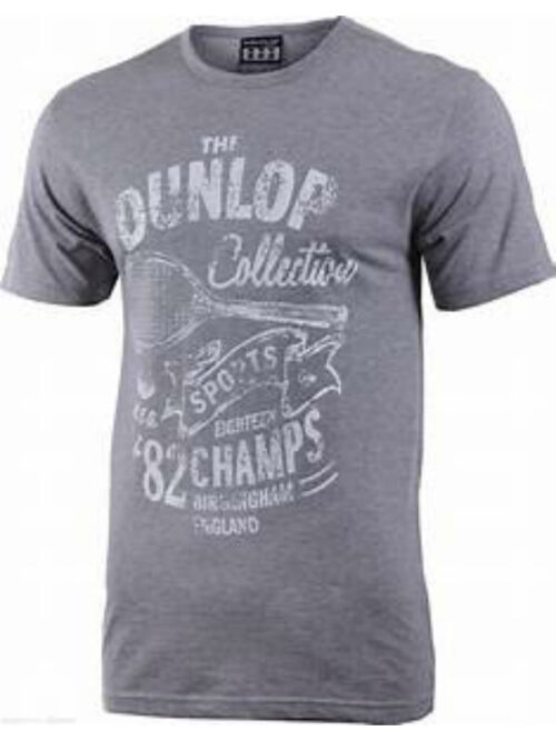 DUNLOP BASIC SHIRT MEN GREY