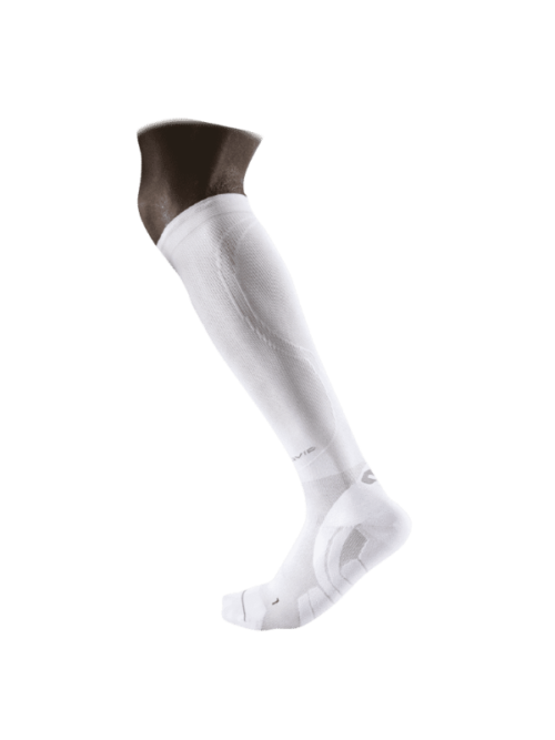 McDavid ELITE COMPRESSION TEAM SOKKEN WIT [8834]