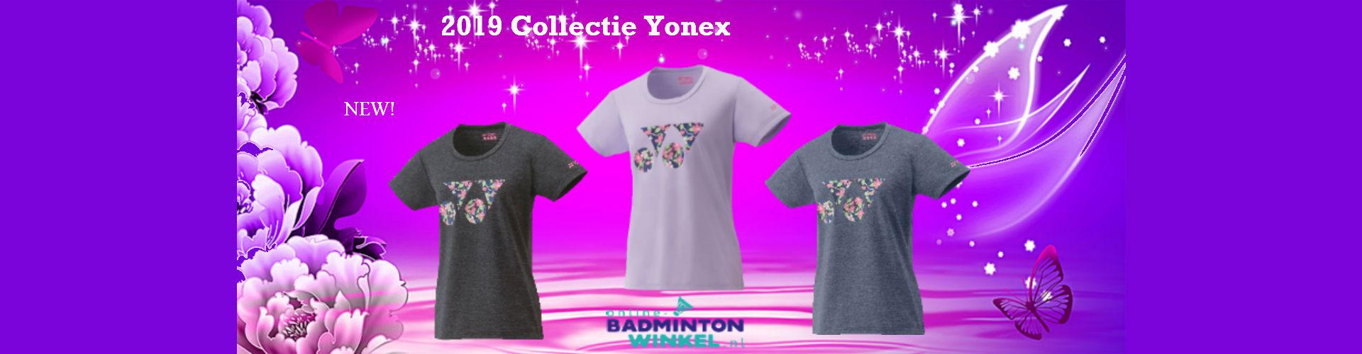 New Yonex 2019 collectie slider