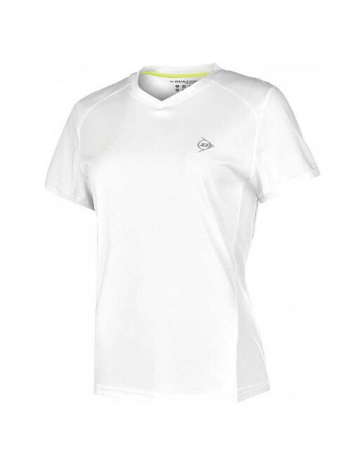 Dunlop Crew Tee Ladies White