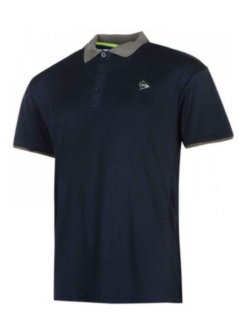 Dunlop polo heren navy