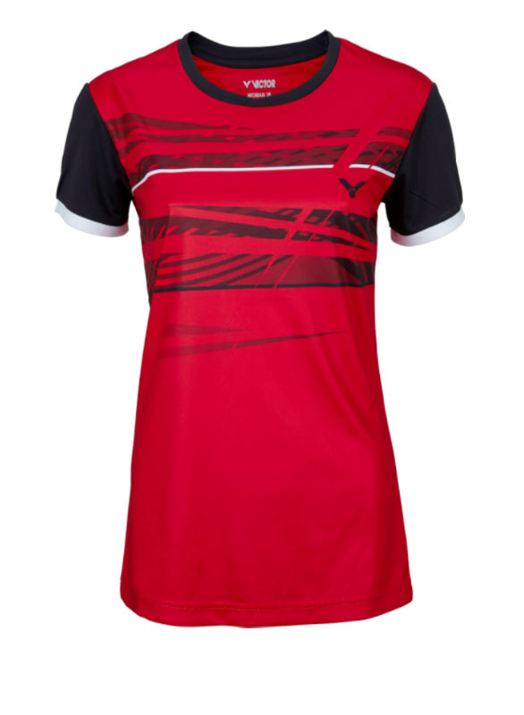 Victor T-shirt Female red 6079