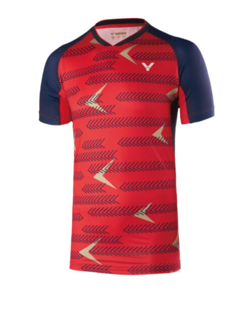 Victor shirt international red 6639