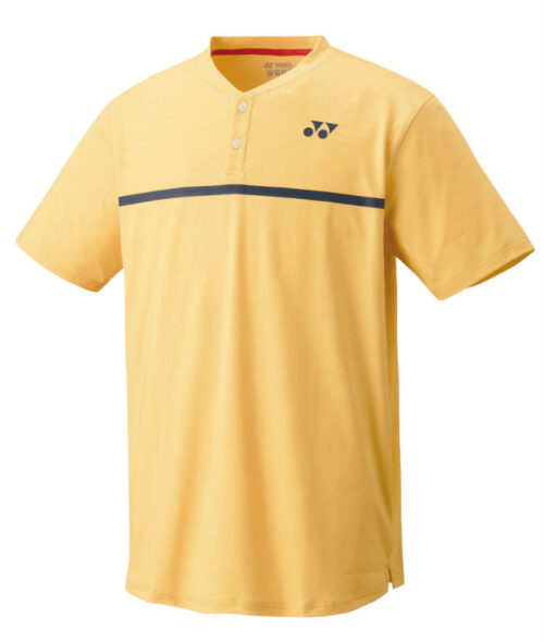 Yonex crew neck shirt soft yellow