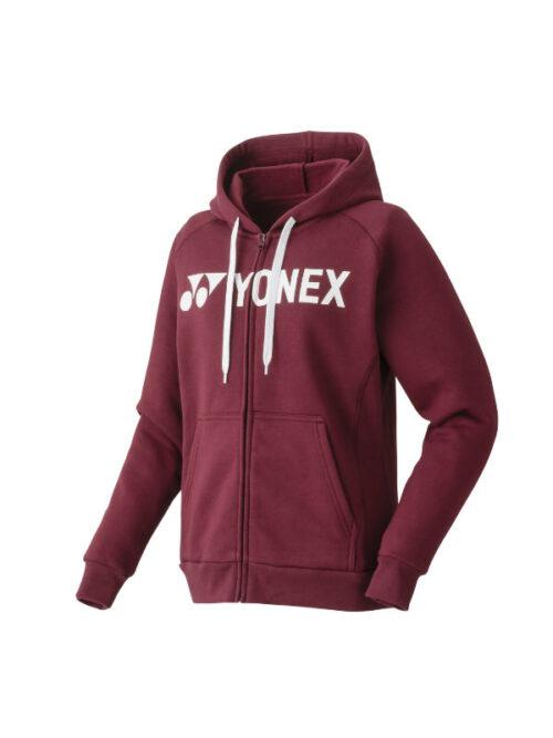 yonex dames hoodie rood