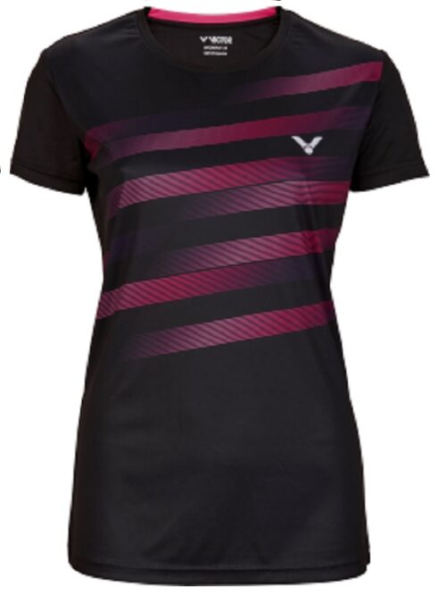 Victor t shirt black dames
