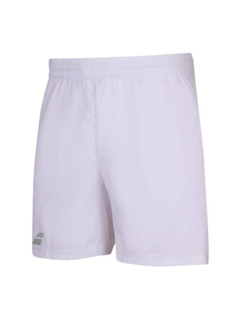 BABOLAT PLAY SHORT WHITE BOY