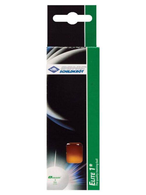 DSK TT BALL ELITE 1* 40+ BOX 3PCS ORANGE