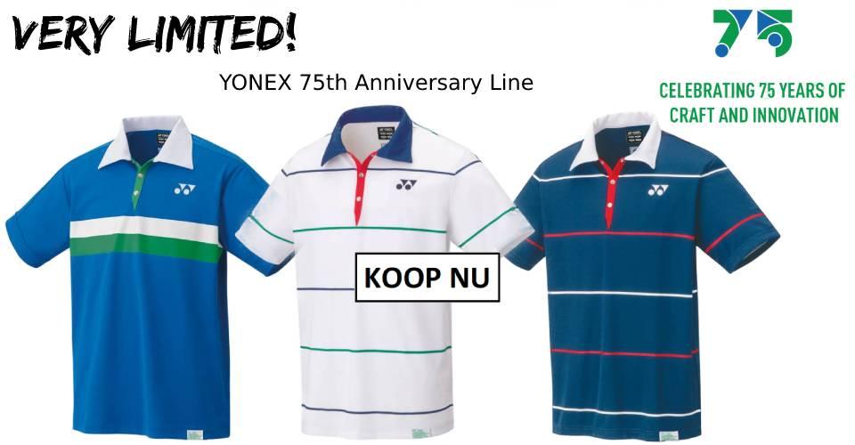 Yonex 75th Anniversary Line
